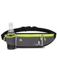 WTTX Sporttaschen Männer und Frauen für Outdoor Sport wasserdichte unsichtbare kleine Mini Gürteltasche mit Flaschenhalter Handytasche für iphone 7 plus