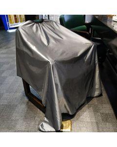 WTTX der schwarze elegante und professionelle Friseurumhang für Hair Styling Schnitte und Harre färben