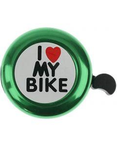 WTTX mini Fahrrad Klingel für Kinder/ klingelt laut und hell/ I love my bike Gute